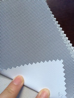Blackout Half Shut Fabric For Customize Able Electric Rolling Blinds
