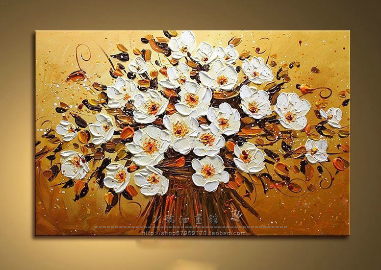 3D Frameless Painting (Including Inner Frame) Hand Painted Canvas ...