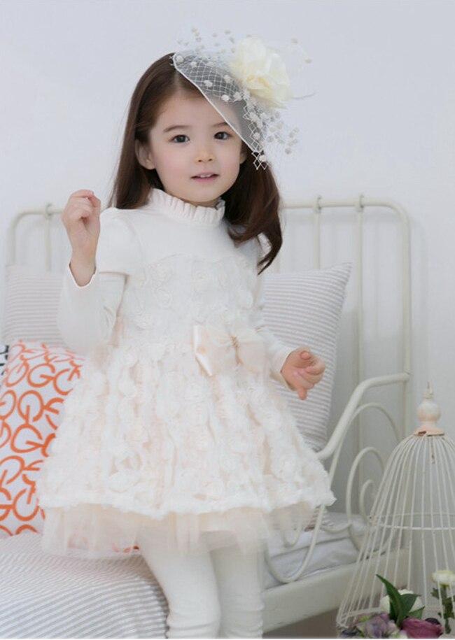 Hot Baby Girl Pretty Lace Rose Flower Bowknot Belt Kids Girl Tulle