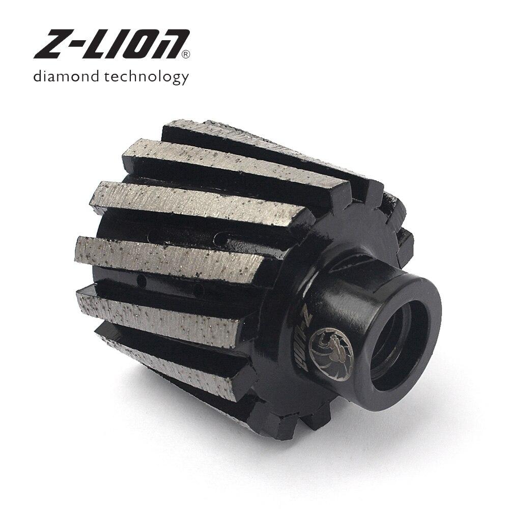 Z LION 2 50mm Diamond Drum Wheel Zero Tolerance Metal Bond Segmented M14 Or 5 8