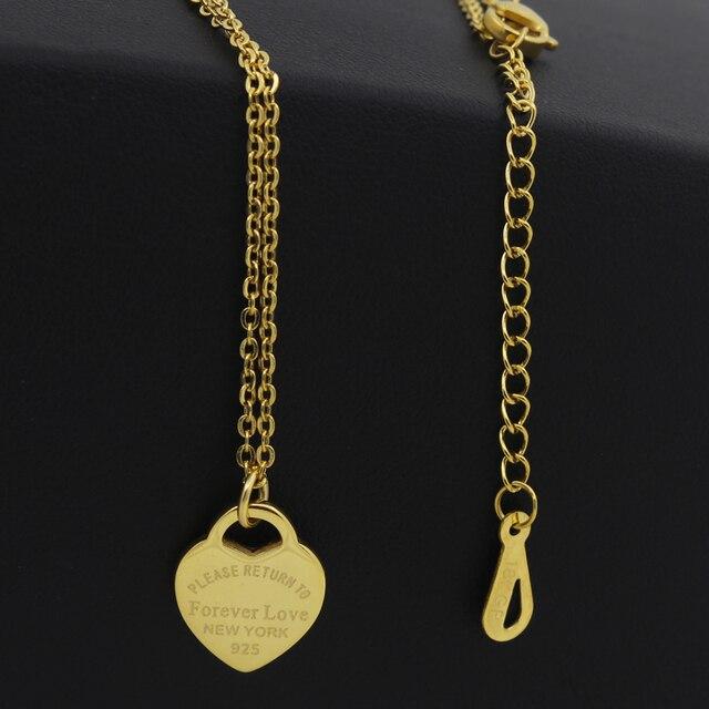 Фото модные роскошные от известной марки любовный ожерелье для женщин