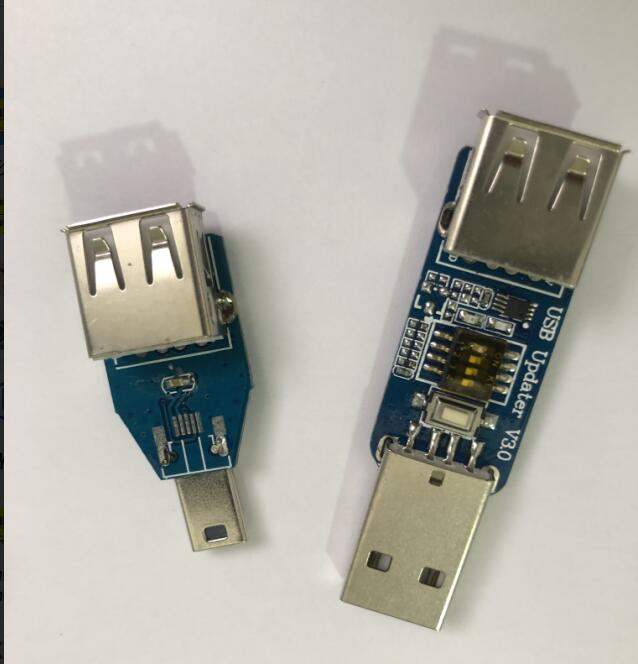 Bluetooth chip rescue tool / USB forced download upgrade / with mini USB to USB female Bluetooth chip rescue tool / USB forced download upgrade / with mini USB to USB female