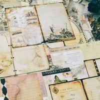 YPP Ремесло винтажный мир материал бумажный Набор для скрапбукинга DIY проекты/фотоальбом/карта для ручной работы