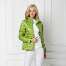 2016 Winter Duck Down Jacket Women Light Coat Female Warm Parkas for Women's Outwear 90% White Duck Down High Quality