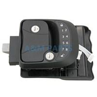 RV Keyless Entry Door Lock Latch Handle Deadbolt Caravan Trailer Wireless Lock