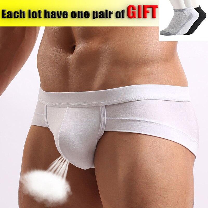 Männer Slips Unterwäsche Männer Sexy Atmungsaktive Kurze Unterhose Modale Bequeme Mens Briefs Unterwäsche Shorts Cueca Männlichen Höschen