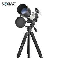 BOSMA Hoge Kwaliteit Dia. 80mm Astronomietelescoop Sterrenhemel Bekijken Monoculaire Met Statief Hunting Optics Spotting Scopes