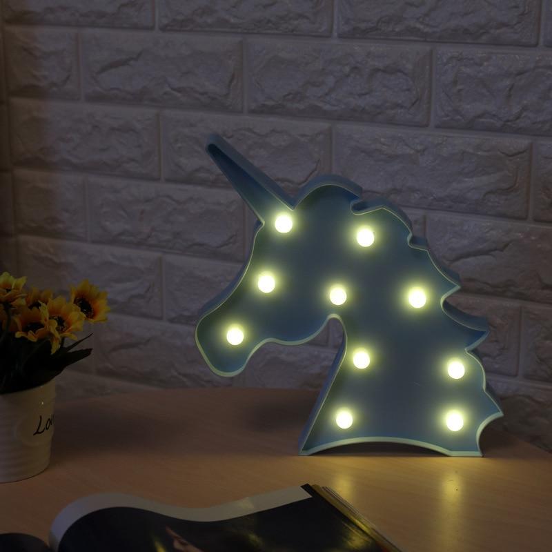 Luzes da Noite decorativo 3d sinal marquise luzes Geração de Energia : Mudar