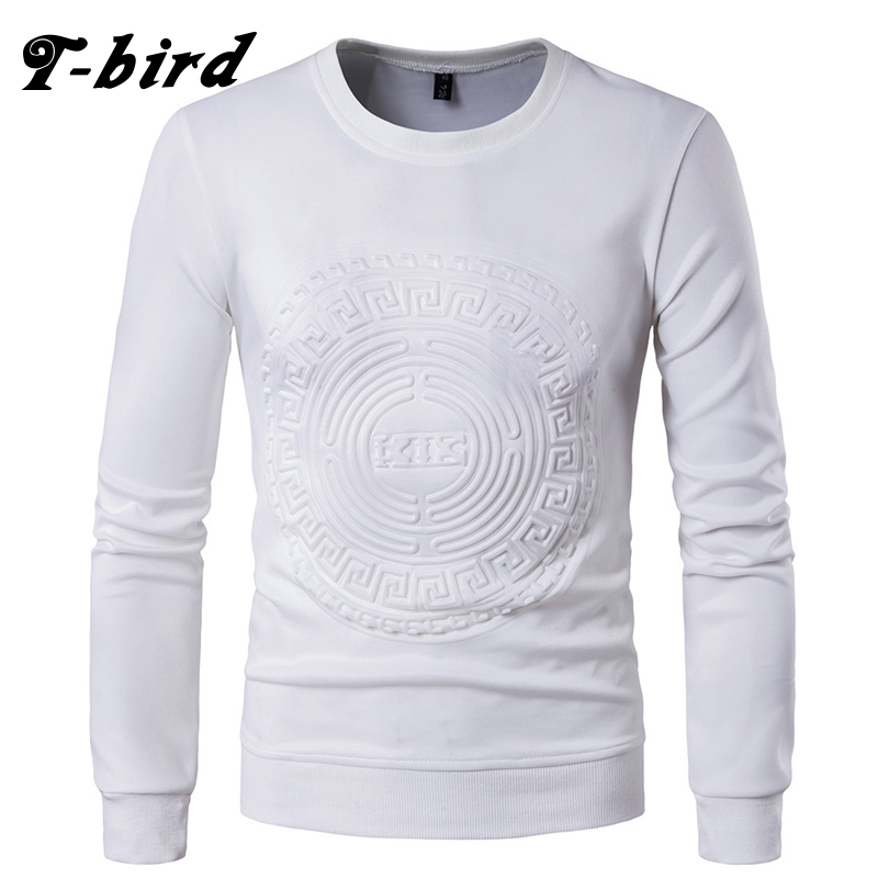T Bird Sweatshirts Men 2017 Brand Hoodie 3D Printing Fashion O Nekc Hip Hop Male Pullover