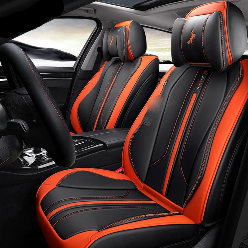 3D Full Surround Design Esportes Almofada Tampa de Assento Do Carro Para Assentos de Carros Para BMW 1 5 3 4 5 6 7 série GT M3 X1 X3 X4 X5 X6 SUV - 4