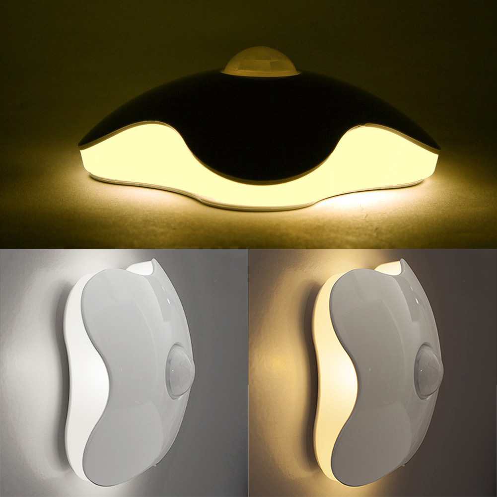 Motion-Activated Four Leaf Clover 0.7W LED Night Light Motion Sensor WWO66