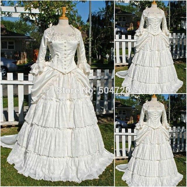 En vente R-073 19 siècle victorien gothique Lolita/guerre civile sud Belle balle Halloween robes Sz US 6-26 XS-6XL