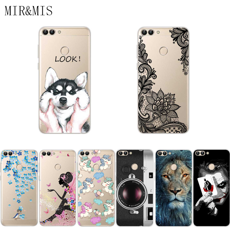 big sale 63974 93c3c US $0.69 |Aliexpress.com : Buy For Huawei P Smart 5.65 Inch Phone Cover  Case Soft Tpu Silicone Back Cover Protective Printed Funda For Huawei P  Smart ...