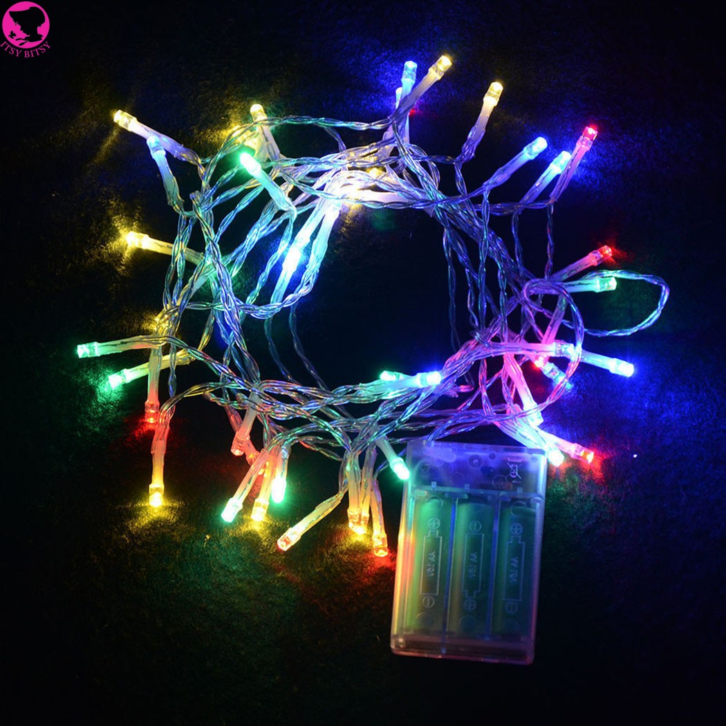 2m 20 led portable aa battery powered string fairy lights christmas lights festival decorative light in led string from lights lighting on aliexpresscom