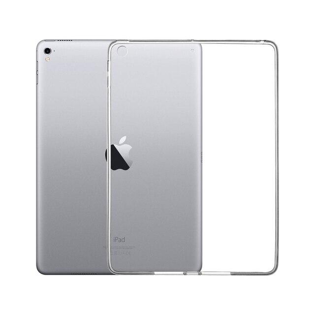 Чехол для Apple iPad 2018 2017 9,7 крышка для iPad Mini 1 2 3 4 Air 2 прозрачный чехол для iPad Pro 10,5 Мягкий ТПУ