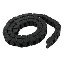 Promotion! Black Plastic Drag Chain Cable Carrier 10 x 15mm for CNC Router Mill