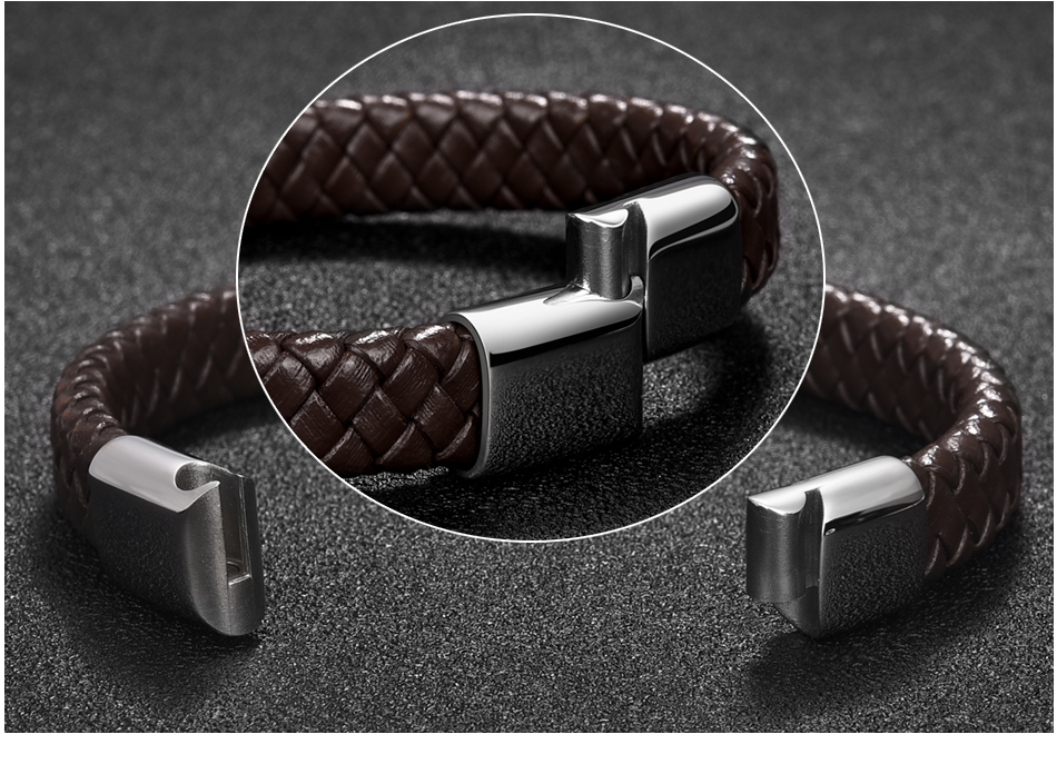 HTB1Y4ENX6zuK1Rjy0Fpq6yEpFXaa - Jiayiqi Punk Men Jewelry Black/Brown Braided Leather Bracelet Stainless Steel Magnetic Clasp Fashion Bangles 18.5/22/20.5cm