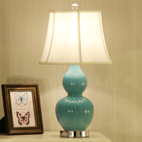 Chinese Ceramic Table Lamp Bedside Simple European Living Room Simple Warm Classical Decorative Table Lamp ZA623