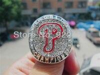 Free Shipping 2008 Philadelphia Phillies Championship Rings BASEBALL Size 11 Fan Gift