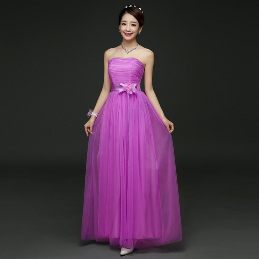 Elegant Women Bridesmaid Formal Dresses Wedding Bridesmaid Formal ...