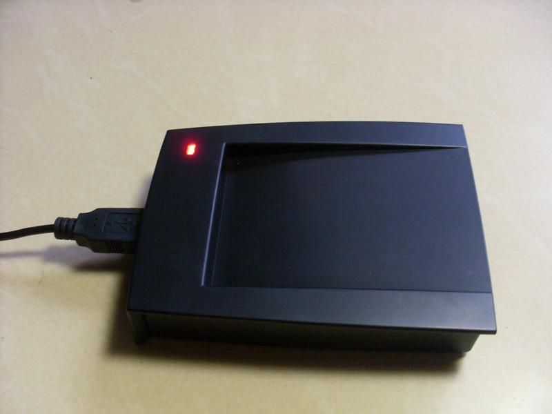13.56 MHz + 125 KHZ RFID/NFC IC + ID lecteur composé 2-en-1 lecteur de carte à puce capteur de proximité USB