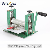 Manual Leather Strap Folder Strap Forming Machine Double Layer Strap Pressure Machine Without Guide Parts