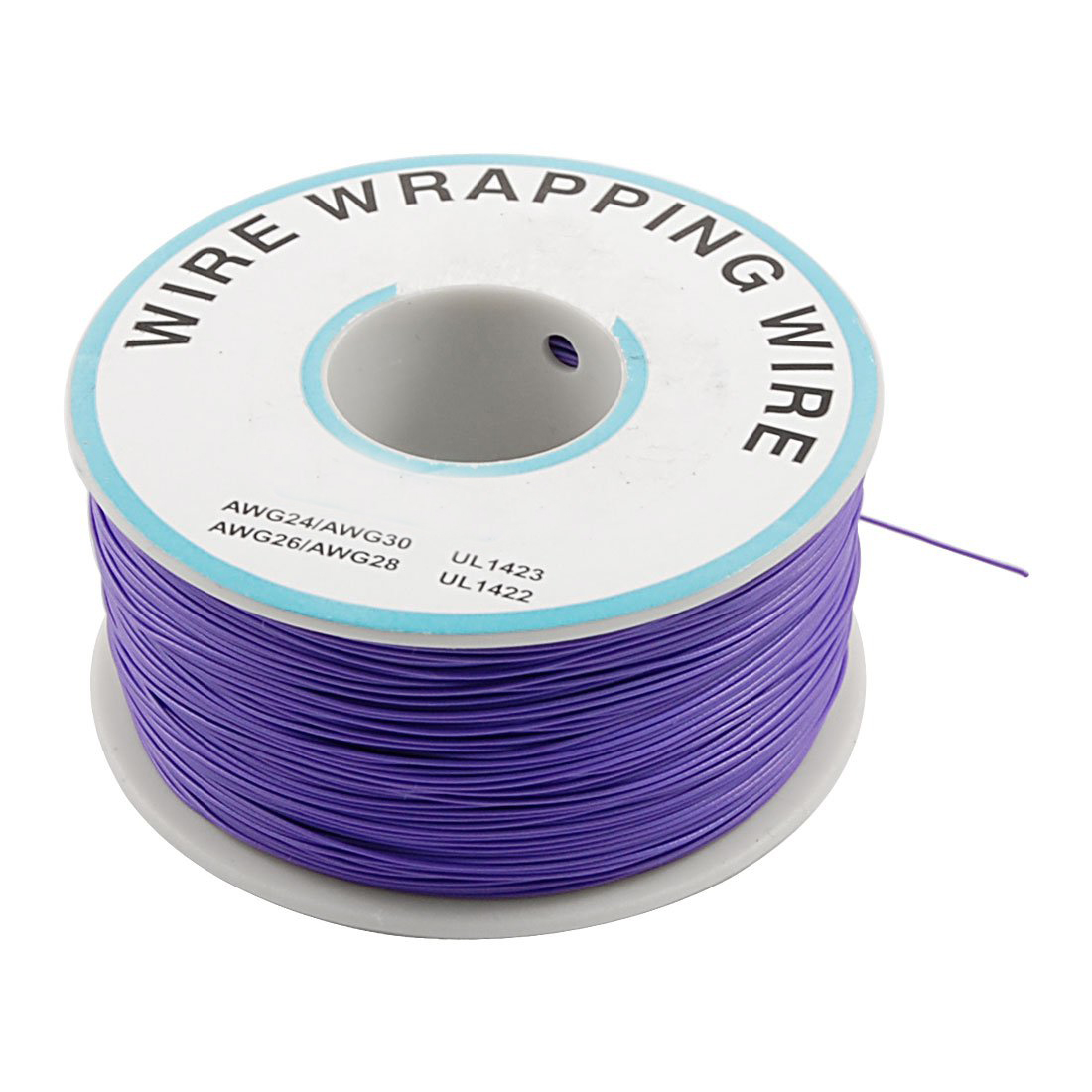 DSHA New Hot Purple PVC Coated TIn Plated CopPer Wire 30AWG Cable 305M цены