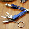 Premium Outdoor Camping Kit Tools Multifunction Pliers With A Flashlight Outdoor Camping Tool Kit Pliers Knife Keychain