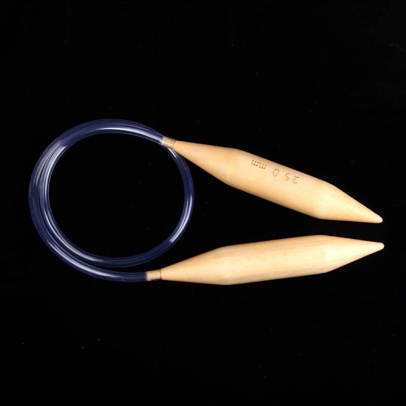 15mm 20mm 25mm סריגה מחטים עגול סריגה מחטים איסלנד צמר מחטים דייה סריגה כלים תפירה אספקה