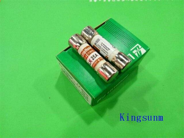 Ücretsiz kargo 10 adet KLK 25 sigorta 10X38 25A Littelfuse 600VAC