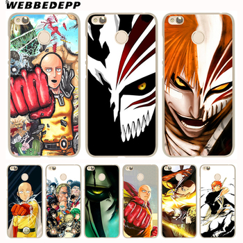 WEBBEDEPP Anime Bleach One Punch Man design Phone Case for Xiaomi Redmi 4X 4A 5A 5 Plus 6 Pro 6A S2 Note 5 6 Pro 4X Cover