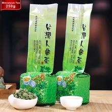 2017 Ginseng Oolong Té Premium Conocida Orgánica 250g Perder Peso Salud Belleza China Taiwan Dong Ding Oolong Té conjuntos