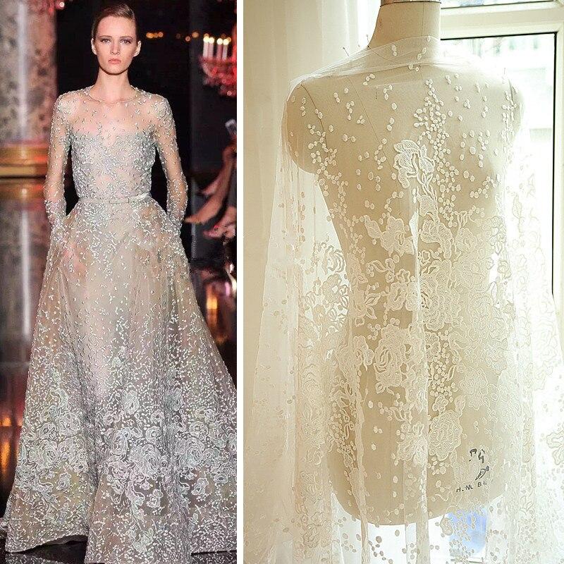 Купить свадебный материал на платье