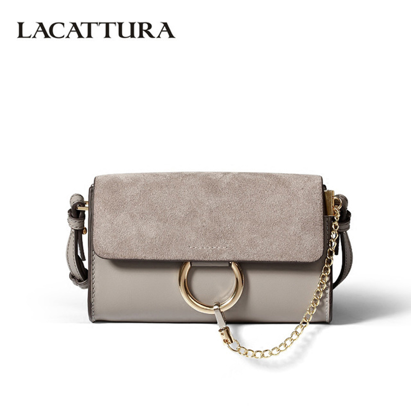 T0023 women Small Vintage chaines bag Genuine Leather Female Handbags 2017 Ladies Women Messenger Shoulder Crossbody Bags Bolsos