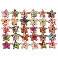 Colorful Bottons Fasteners Flower Pattern Button Star Shape DIY Sewing Accessories Fastener