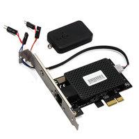 DIEWU Multifunctional PCIE PCI Express Gigabit Network Card Remote Control Switch Card Computer Desktop Switch 2