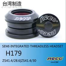 Headsets Neco Semi-integrado Threadle para ZS41/41.4/41.5/41.8mm 28.6/30 TCR GIGANTE btwin Bicicleta de Estrada Headset Copa(China)