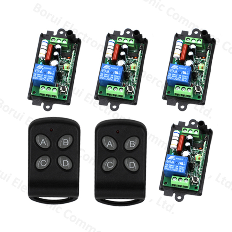 AC220V 110V RF Wireless Remote Control Switch 1CH Wireless Remote Plug 315Mhz / 433Mhz 315mhz 433mhz ac220v 1ch 10a rf wireless remote control switch system transmitter