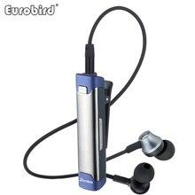 Nueva Universal Sport Oficina Lavalier Auricular Teléfono Auricular Bluetooth Inalámbrico de Alta Fidelidad Estéreo Bajo Pesado Auricular con Micrófono