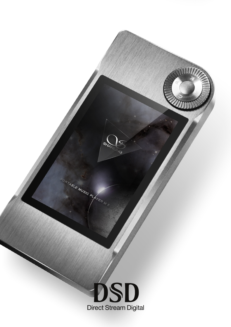 SHANLING M5 Portable Hifi DSD FLAC MP3 Music Player AK4490 AD8610 MUSE8920  Support DSD64 / DSD128