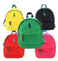 Retail! Brand Baby Boy/Girl schoolbag Kids casual backpack Candy color rucksack Children bags Canvas pack Child packsack