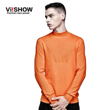 VIISHOW Brand Pullover Men Turtleneck Sweater Men Long Sleeve Mens Sweaters pullover Casual men sweater Knitwear Pull Homme 3XL