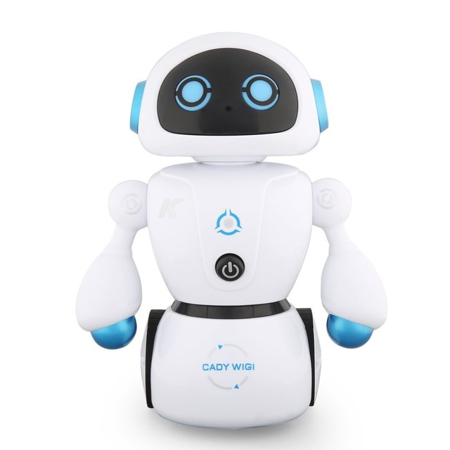 JJR/C R6 CADY WIGI Intelligent RC Robot Music Dance Smart RC Robot Toy Programmable Line-following Maze-solving Kid Toy Gift