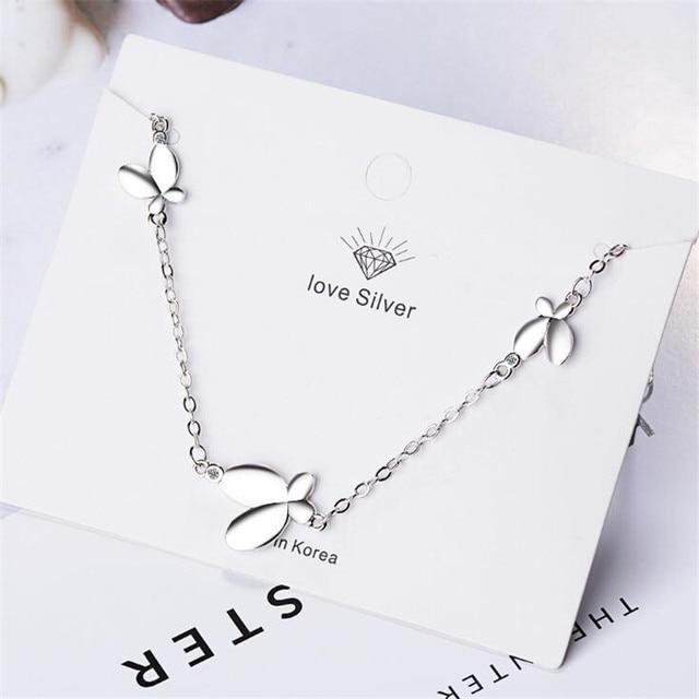 Новая мода личности насекомое 925 стерлингового серебра ювелирные
