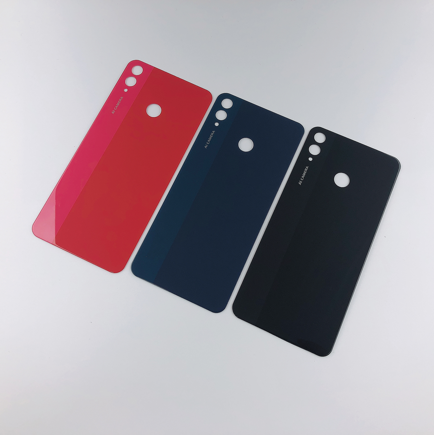 For Huwei Honor 8X 8 X Housing Glass Battery Back Cover+Sticker