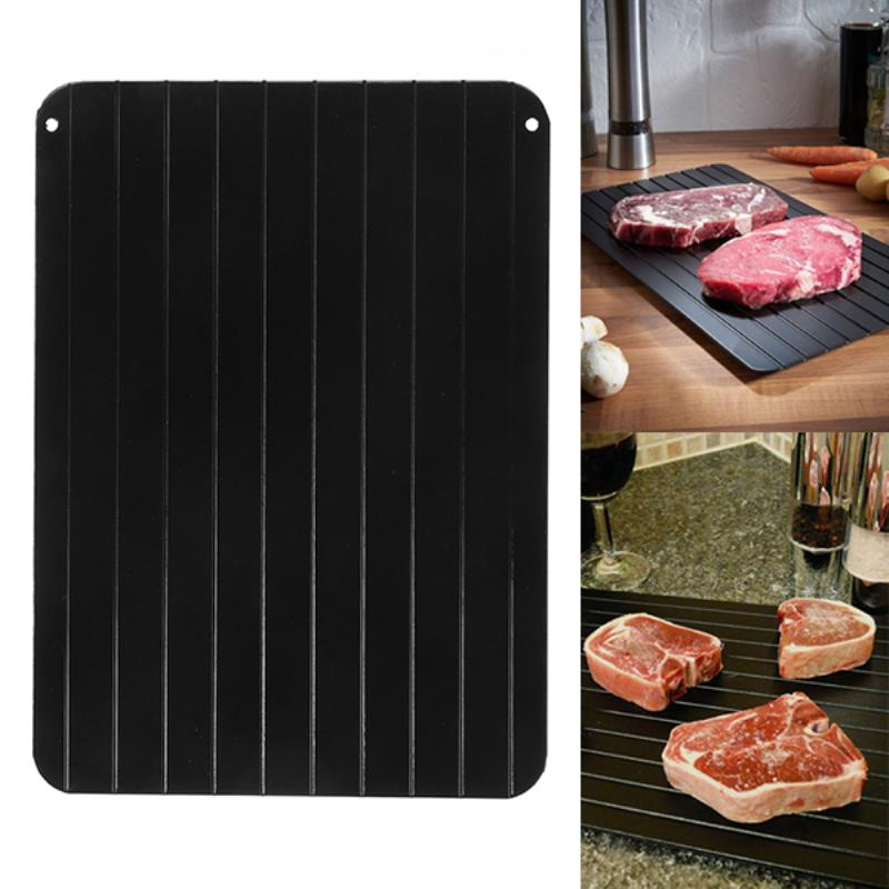 1pc Fast Defrosting Meat Tray Rapid Safety Thawing Tray For Frozen Food Meat Kitchen Accessories Mayitr New Arrival