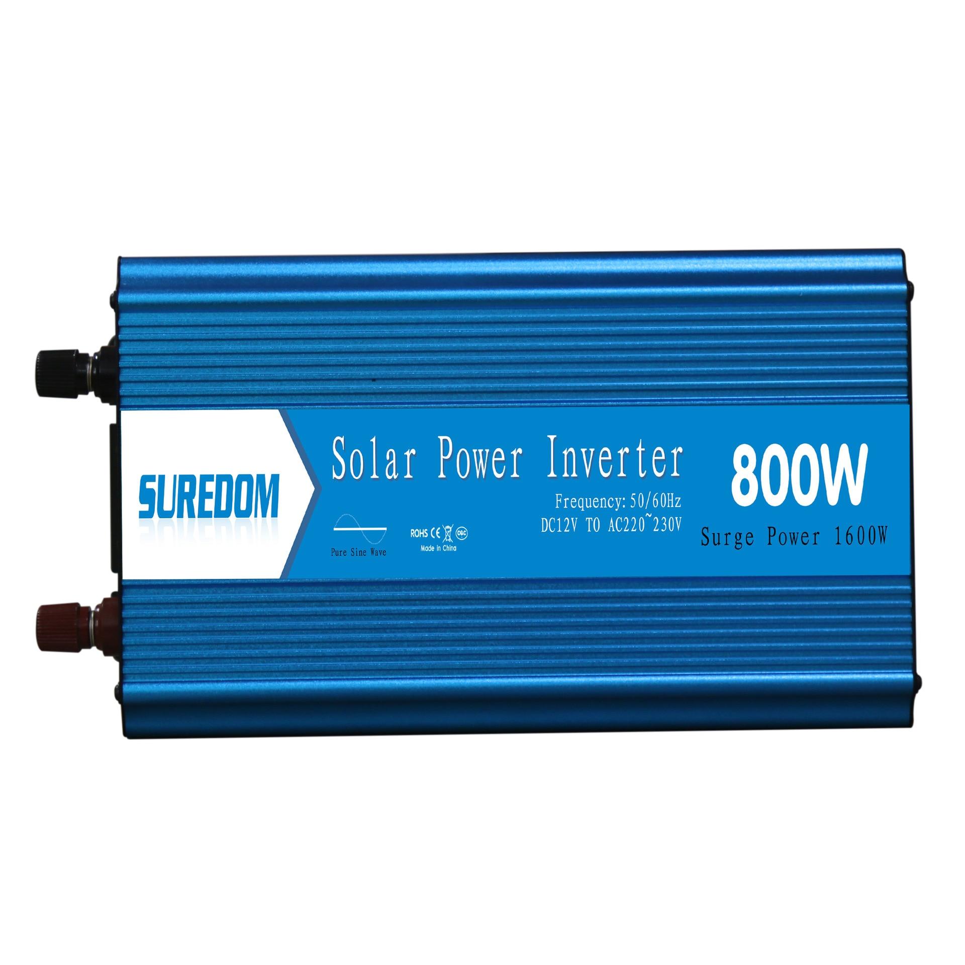 800W Pure Sinusoidal Inverter Solar Inverter Multifunctional Travel Power Supply Control Car power inverter 2 universal