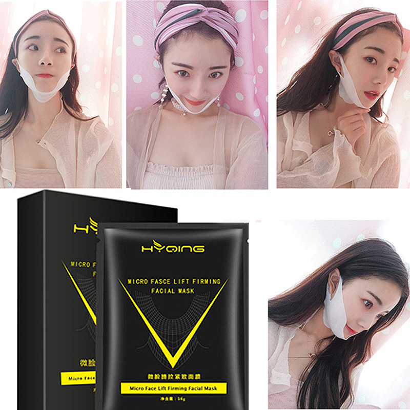 1pc V Shape Lifting Firming Facial Mask Face Slim Anti-wrinkle V Face Chin Cheek Lift Up Slimming Mask