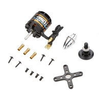 EMAX GT2215 09 1180KV Black Metal Outrunner Brushless Motor For RC Models Quadrocopter