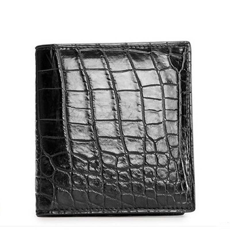 2018 ouluoer crocodile skin Belly men wallet men's purse vertical style multi-card business wallet ouluoer thailand imported crocodile skins the lady women purse with a purse and a long women wallet